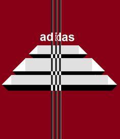 Adidas, new logo.
