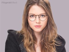 0d615d65e3 Fitzgerald in Black from EyeBuyDirect.