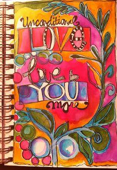 Joanne Sharpe's delightful Doodles and lettering!