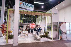 TRADIN Organics at Natural Products Expo West (NPEW) 2017 - Custom Exhibit Rental | Absolute Exhibits    #tradeshow #exhibit #npew