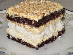 Domowe ciasta i obiady: Ciasto czekoladowo-kokosowe Polish Desserts, Polish Recipes, No Bake Desserts, Sweet Recipes, Cake Recipes, Dessert Recipes, Pastry Cake, How Sweet Eats, Homemade Cakes