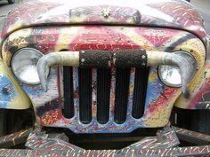 Jeep Grill by That Car, via Flickr  www.talkingjeepoz.com