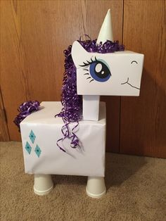 My Little Pony present I made my for my niece's MLP 4th birthday party!