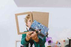 Un puzzle handmade para el día del padre. - AEIOUTURURU | Talleres creativos para peques Ideas Geniales, Puzzles, Polaroid Film, Atelier, Creativity, Puzzle