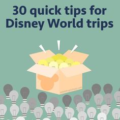 Lots of tips for your next Disney World trip - Quick tips about dining, touring, traveling with young children, + more
