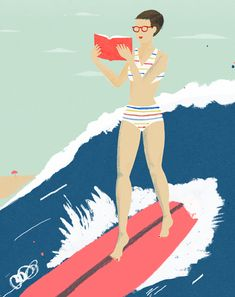 surfing-冲浪-#thinkcolorfully chris silas neal