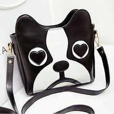 Moda Cartoon Cute Dog Capo modello Crossbody Bag - EUR € 19.63
