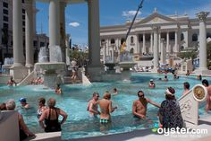 The Pool at the Caesars Palace Hotel & Casino