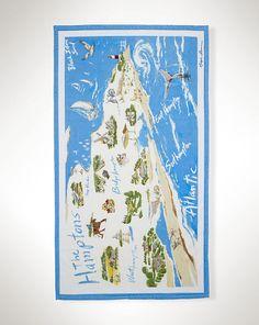 Hamptons Beach Towel - Ralph Lauren Home Bath & Beach Towels - RalphLauren.com