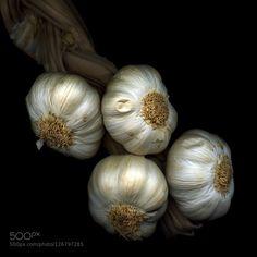 GETTING READY FOR HALLOWEEN? by magdaindigo  IFTTT 500px Allium Hasselblad Zeiss ail black background braid bulbs bunch colour conceptual art f