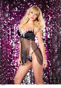 Valentine Sweet and Sexy Babydoll