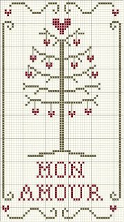 ~ Mon Amour Heart Tree ~ Freebie....