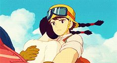 castle in the sky sheeta and pazu - Google Search
