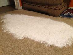Flecken von Teppichen entfernen mit Backpulver und Essig