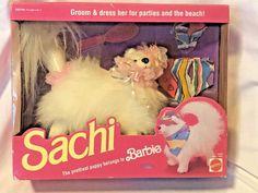 Vintage Sachi The Prettiest Puppy Belongs to Barbie Unopened Box
