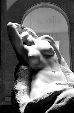 . Gustave-Frédéric Michel (1851-1924) Form Disengaging Itself from Matter, 1902 Marble - 172 x 150 x 95 cm Lille, Palais des Beaux-Arts Photo : Didier Ryknerit's It's just so beautiful.