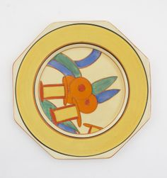 'Bobbins' a Clarice Cliff Fantasque Bizarre plate