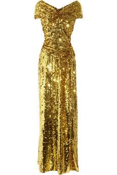 Vivienne Westwood Gold Label|Long Glazing metallic sequined gown |NET-A-PORTER.COM - StyleSays