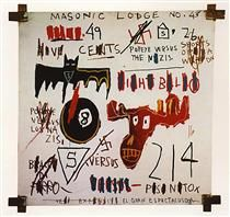 Television and Cruelty to Animals - Jean-Michel Basquiat
