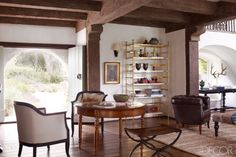 Charmed Circle: Reese Witherspoon's Ojai Home  - ELLEDecor.com