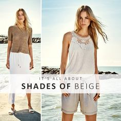 It's all about shades of beige this summer!