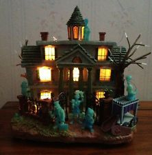 disney haunted mansion lightedlight up house halloween display