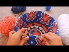 Step-by-Step Snowflake Tapestry Crochet Base - Part 1 - YouTube