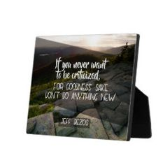 To Be Criticized Plaque - home decor design art diy cyo custom Home Gifts, Slogan, Design Art, Typography, Inspirational Quotes, Feelings, Funny Humor, Inspire, Diy