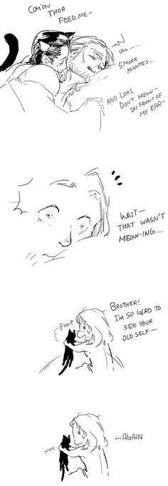 Haha Loki is up to some mischief.
