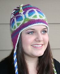 Ravelry: Peace Out Earflap Hat pattern by Marinda Lariz