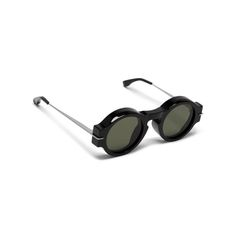 Mulberry - Bar Sunglasses in Black acetate with metal