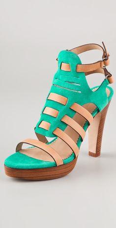 Rag & Bone Apollo Suede High Heel Sandals