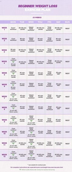 12 Weight Loss Program: beginner starting this today week! work outs arent long but look like they truly are effective with a healthy diet h