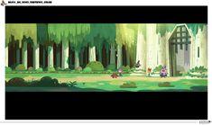 Cenários do seriado francês Marcus Level, da Mondo TV | THECAB - The Concept Art Blog