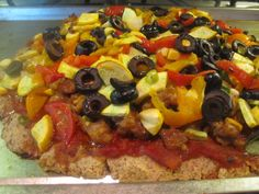 paleo pizza crust - just made this for dinner. One of the better crusts I've tried.