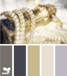 gray, gold, and off white color palette | New Bedroom Inspiration