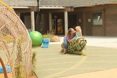 Caterpillar playground