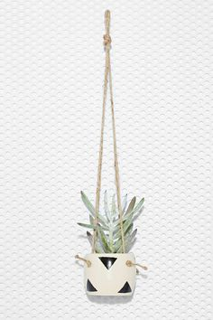 Small Spells Triangle Handmade Hanging Planter | Shop All at Nasty Gal