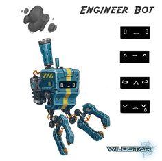 Wildstar Engineer Diminisher Bot by Koryface on DeviantArt