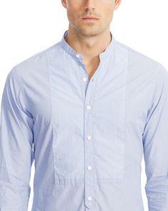 Striped-Bib Nigel Sport Shirt - Standard-Fit  Casual Shirts - RalphLauren.com
