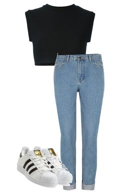 """.///.///..."" by anna-mae-equils on Polyvore featuring adidas Originals"