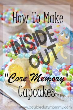 Disney/Pixar Inside Out cupcakes!