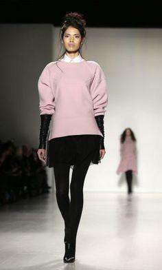"""""""Marissa Webb"""" bei der New Yorker Fashion Week. Mehr dazu hier: http://www.nachrichten.at/nachrichten/society/New-Yorker-Fashion-Week-gestartet;art411,1299849 (Bild: EPA)"""