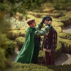 "Prince and the Pauper Брати Борисенко в образі героїв твору ""Принц і Жебрак"""