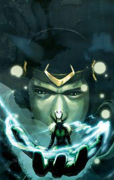 Loki by Stephanie Hans
