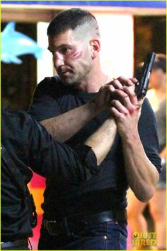 First Photos of Jon Bernthal as The Punisher