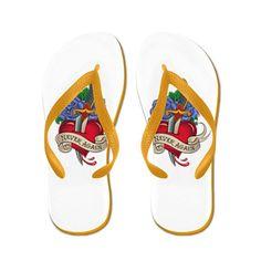 Truly Teague Women's Never Again Broken Heart Rubber Flip Flops Sandals >>> Visit the image link more details. #shoes