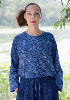 """""""Sakura"""" blouse in modal – Hongkong – GUDRUN SJÖDÉN"""