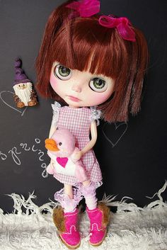 Carolina got a new buddy by Kassandra's Box, via Flickr