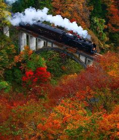 Autumn colors in Fukushima, Japan by Masaki Takashima